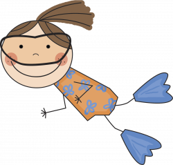 Free Girl Swimming Cliparts, Download Free Clip Art, Free Clip Art ...