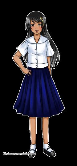 Hetalia : Philippine School Uniform by spogunasya on DeviantArt