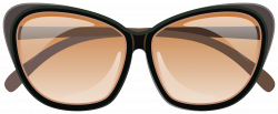 Brown Sunglasses PNG Clipart Image | Gallery Yopriceville - High ...