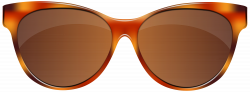 Sunglasses Brown PNG Clip Art Image | Gallery Yopriceville - High ...