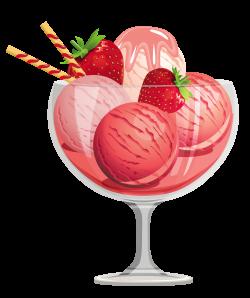 Free clip art ice cream sundae clipart 3 - Clipartix | ꧁Ice Cream ...