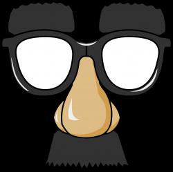 Clipart - Funny Glasses
