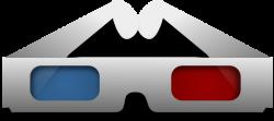 3d Movie Glasses Clip Art at Clker.com - vector clip art ...