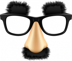 disguise glasses mustache - Sticker by angie nelson
