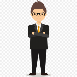 Glasses Background clipart - Lawyer, Man, Cartoon ...