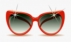 Beach Summer Clip Art Red Border Ⓒ - Red Sunglasses Clip ...