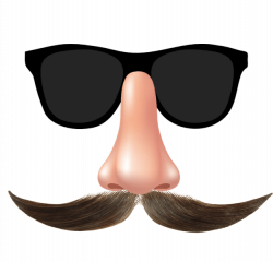 Mustache and glasses transparent background | Transparent Images ...