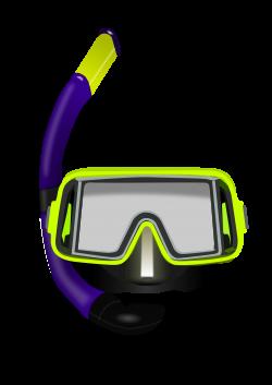 Clipart - Diving glasses
