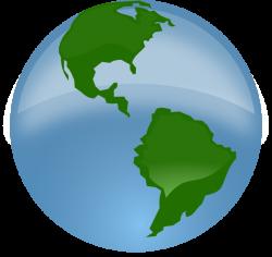 Globe Clip Art at Clker.com - vector clip art online, royalty free ...