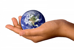 Hand Holding Earth transparent PNG - StickPNG