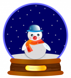 Public Domain Clip Art Image   Animated Snow Globe   ID ...