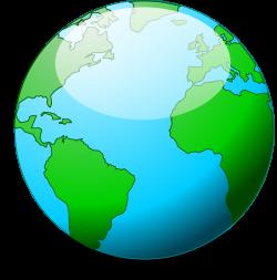 Clipart - A simple globe