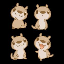 Chibi Otter by Daieny on DeviantArt   kawaii just kawaii   Pinterest ...