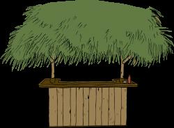 Clipart - Tiki Bar