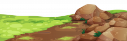 Grass and Stones Ground PNG Clipart   Gallery Yopriceville - High ...