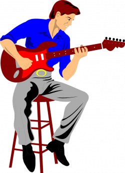 28+ Collection of Free Clipart Guitar Player | High quality, free ...