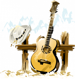 Country Music | guitare_chapeau_country_music.png | hjk | Pinterest ...