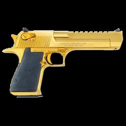 gun deagle golden deserteagle gold pistol weapon...