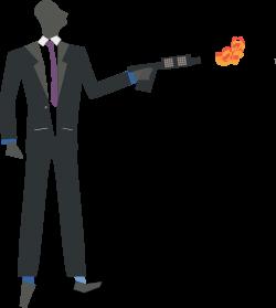 Clipart - oxidation torch