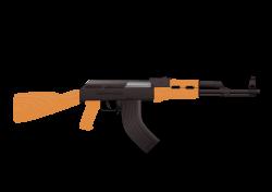 Clipart - AK47 Assault Rifle