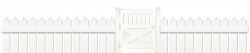 White Fence with Door PNG Clipart Picture   ClipArt   Pinterest ...
