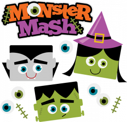 28+ Collection of Halloween Monster Mash Clipart | High quality ...