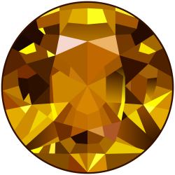 Yellow Gem PNG Clip Art Image   Gallery Yopriceville - High-Quality ...