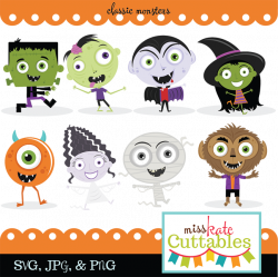 Halloween Monster Clipart