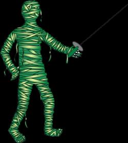 Green Fencing Mummy Clip Art at Clker.com - vector clip art online ...
