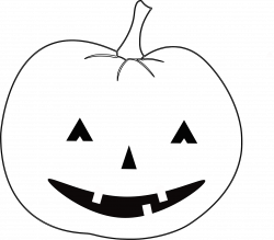 28+ Collection of Halloween Clipart Outline | High quality, free ...