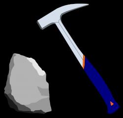 Clipart - Geological hammer