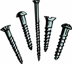 Screws Clip Art at Clker.com - vector clip art online, royalty free ...