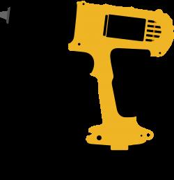 Clipart - Electric screwdriver