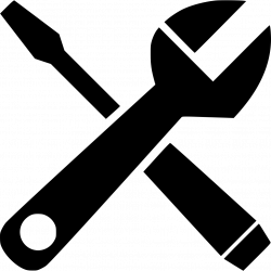 Adjustable Wrench Screwdriver Svg Png Icon Free Download (#556664 ...