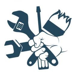 Hand holding hammer clipart 1 » Clipart Portal