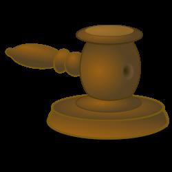 Clipart - Judge Hammer