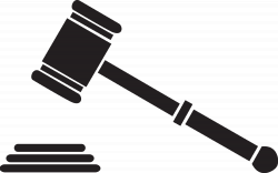 28+ Collection of Law Gavel Clipart | High quality, free cliparts ...