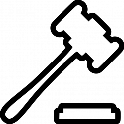 Hammer Lawyer Svg Png Icon Free Download (#451913) - OnlineWebFonts.COM