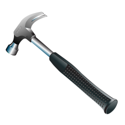 Hammer Five | Isolated Stock Photo by noBACKS.com