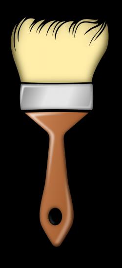 PAINT BRUSH CLIP ART | CLIP ART - MISC. - CLIPART | Pinterest | Clip ...