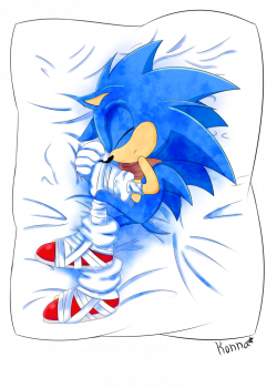 Sonic Body Pillow by KonKonna | Sonic Boom | Pinterest | Pillows ...