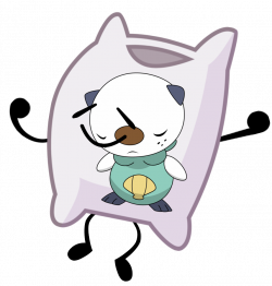 Image - Oshawott body pillow pose.png | Object Shows Community ...
