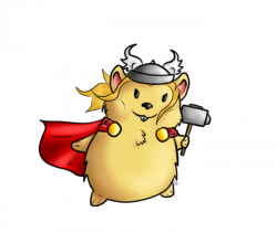 Thor The Hamster God by bleding-rose on DeviantArt