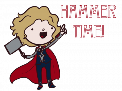 Thor: Hammer Time! by saladsalty on DeviantArt