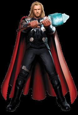 Thor Standing transparent PNG - StickPNG