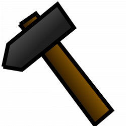 Clipart - hammer