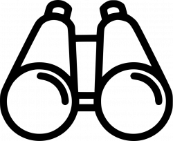 Binoculars Drawing at GetDrawings.com | Free for personal use ...