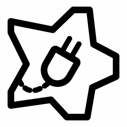 Energy clipart black and white