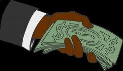 Clipart - Hand offering money 2
