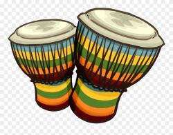 Drum Conga Djembe Clip Art Transprent Png - Bongo Drums Png ...